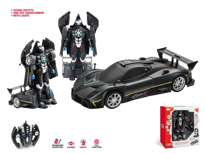 63457 - PAGANI ZONDA R TRANSFORMABLE CAR