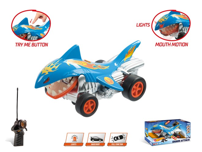 63504 - HOT WHEELS SHARK ATTACK